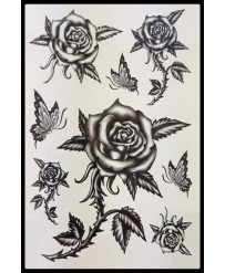 "Tattoo  "" Roses Noires """