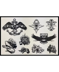 "Tattoo  "" Aigles Divers """