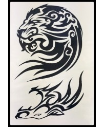 "Tattoo  ""  Lion Tribal"""
