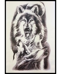 Tattoo Loup Hurlant