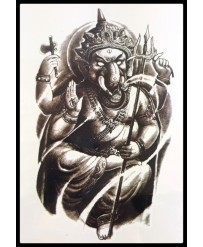 tattoo ganesh