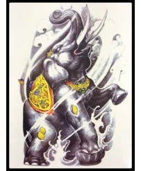 tattoo elephant sacre