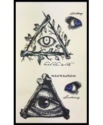 "Tattoo  "" Eye in pyramid """