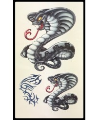 "Tattoo  "" Cobra Gris """