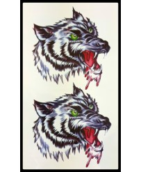 tattoo temporaire Loup