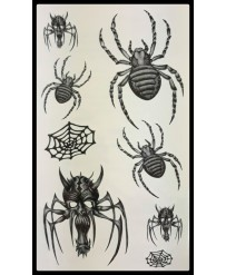 "Tattoo  "" Spiders n°2 """