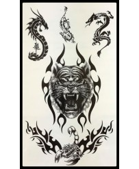 "Tattoo  ""Tigre et Dragons..."