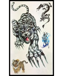 "Tattoo  "" Angry Tiger n°1 """