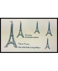"Tattoo  "" Tour Eiffel x5 """