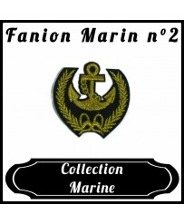 Patch Fanion Marin
