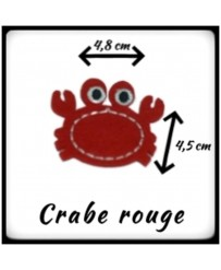 Patch Crabe Rouge