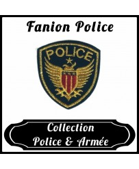 Patch Fanion Police