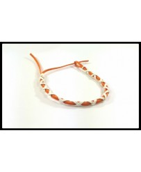 Bracelet Suédine Orange