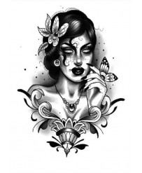 "Tattoo "" Séductrice """