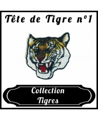 Patch Tête de tigre n°1