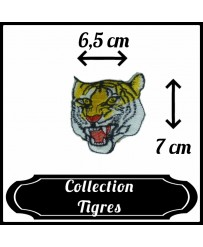 Patch Tête de tigre n°2