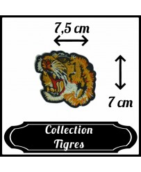 Patch Tête de tigre n°3