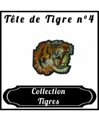Patch Tête de tigre n°4