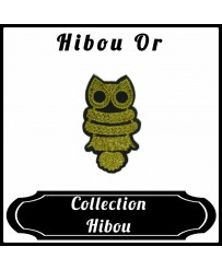 Patch Hibou Doré