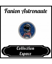 Patch Fanion Astronaute Rond