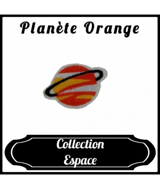 Patch Planète Orange