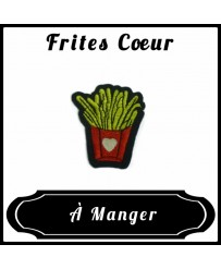 Patch Frites Cœur