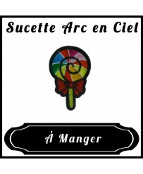Patch Sucette Arc en Ciel