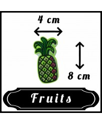 Patch Ananas Fluo