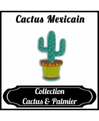 Patch Cactus Mexicain