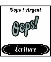 Patch Oops ! Argent