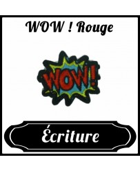Patch WOW ! Rouge