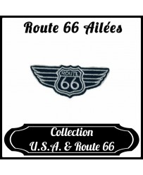 Patch Route 66 Ailées
