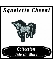 Patch Squelette Cheval