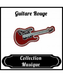 Patch Guitare Rouge