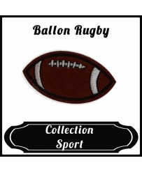 Patch Ballon Rugby