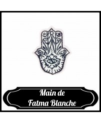 Patch Main de Fatma Blanche