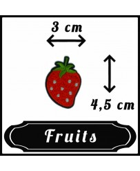 Patch Fraise Medium