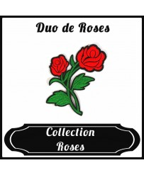 Patch Duo de Roses