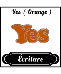 Patch Yes ( Orange )