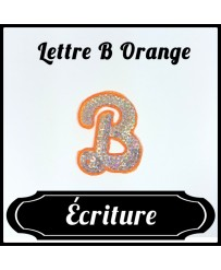 Patch Lettre B Orange