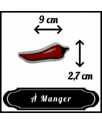 Patch Piment Rouge