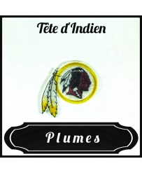 Patch Tête d'Indien