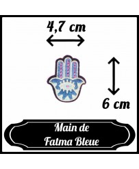 Patch Main de Fatma Bleue