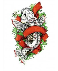 "Tattoo "" CARP KOI """