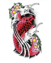 "Tattoo "" RED CARP  """