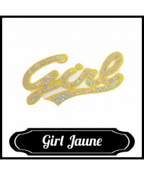 Patch Girl ( Jaune )