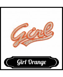 Patch Girl ( Orange )
