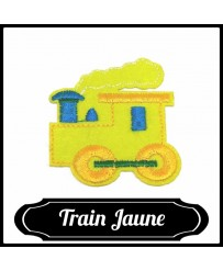 Patch Train ( Jaune )