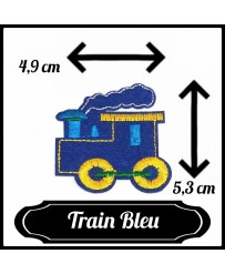 Patch Train ( Bleu )