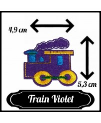 Patch Train ( Violet )